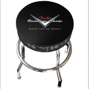 """Fender® 30"""" Tall Custom Shop Pinstripe Barstool"""