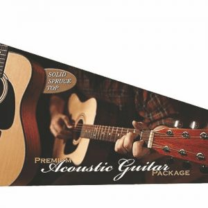 Fender® DG8-S Acoustic Value Pack Solid Spruce Top Natural