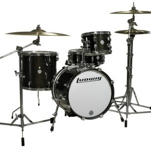 Ludwig Breakbeats by Questlove 4-pc. Shell Pack Black Sparkle