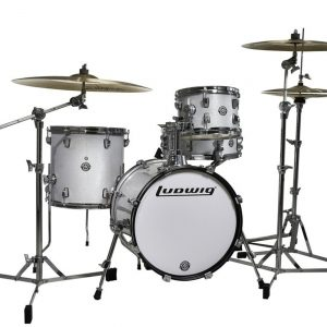 Ludwig Breakbeats by Questlove 4-pc. Shell Pack White Sparkle