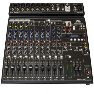 Peavey PV14 AT 14 Channel Mixer with Auto-Tune and Bluetooth