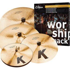 Zildjian KC0801W K Custom Worship Cymbal Set